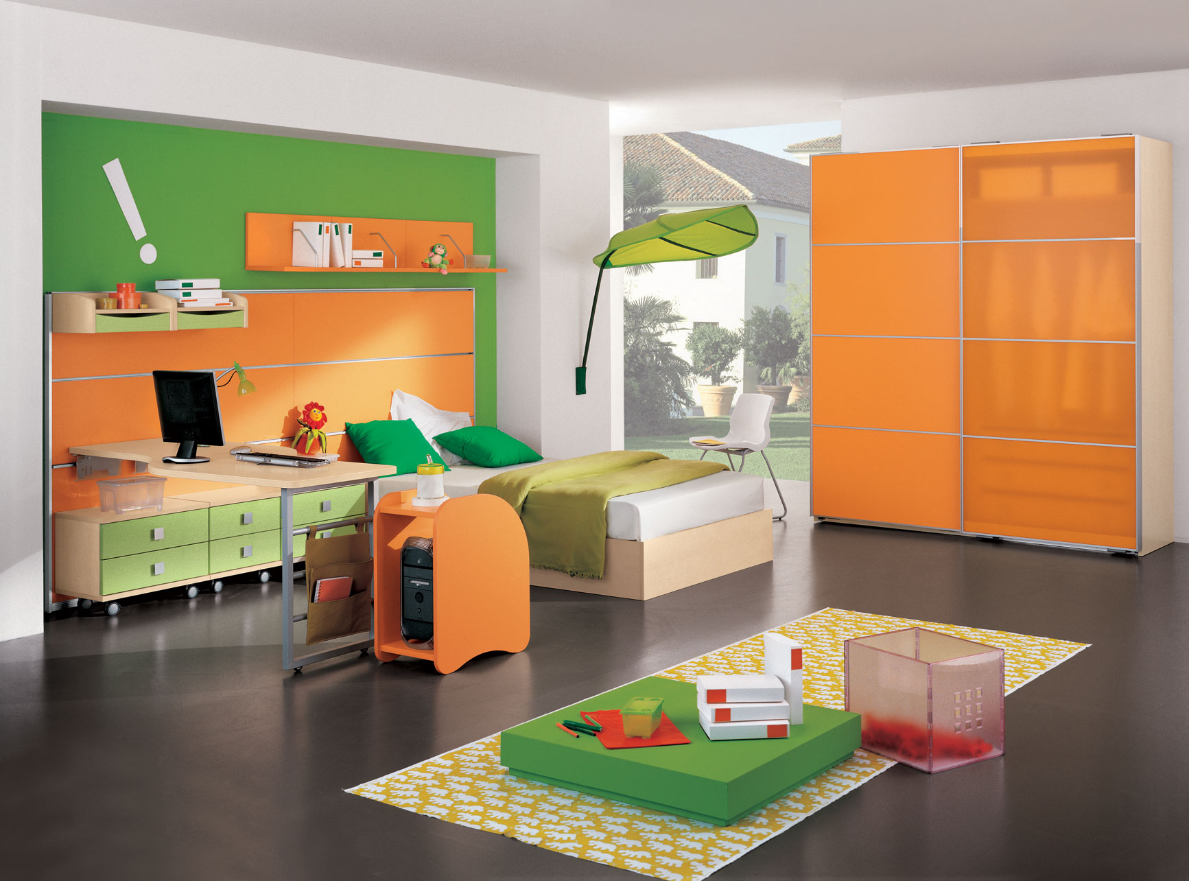 Color combinations for bedrooms say goodbye to your for Bedroom inspiration orange
