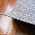 hardwood rug pad