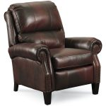 high end recliners in dark brown with traditional design to give rustic outlook in the entire of room