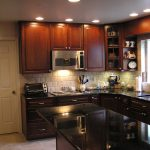 home makeover kitchen set remodel black