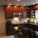 home makeover kitchen set remodel black