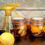homemamde citrus enzyme spray citrus peels in jars orange spray bottle fresh orange