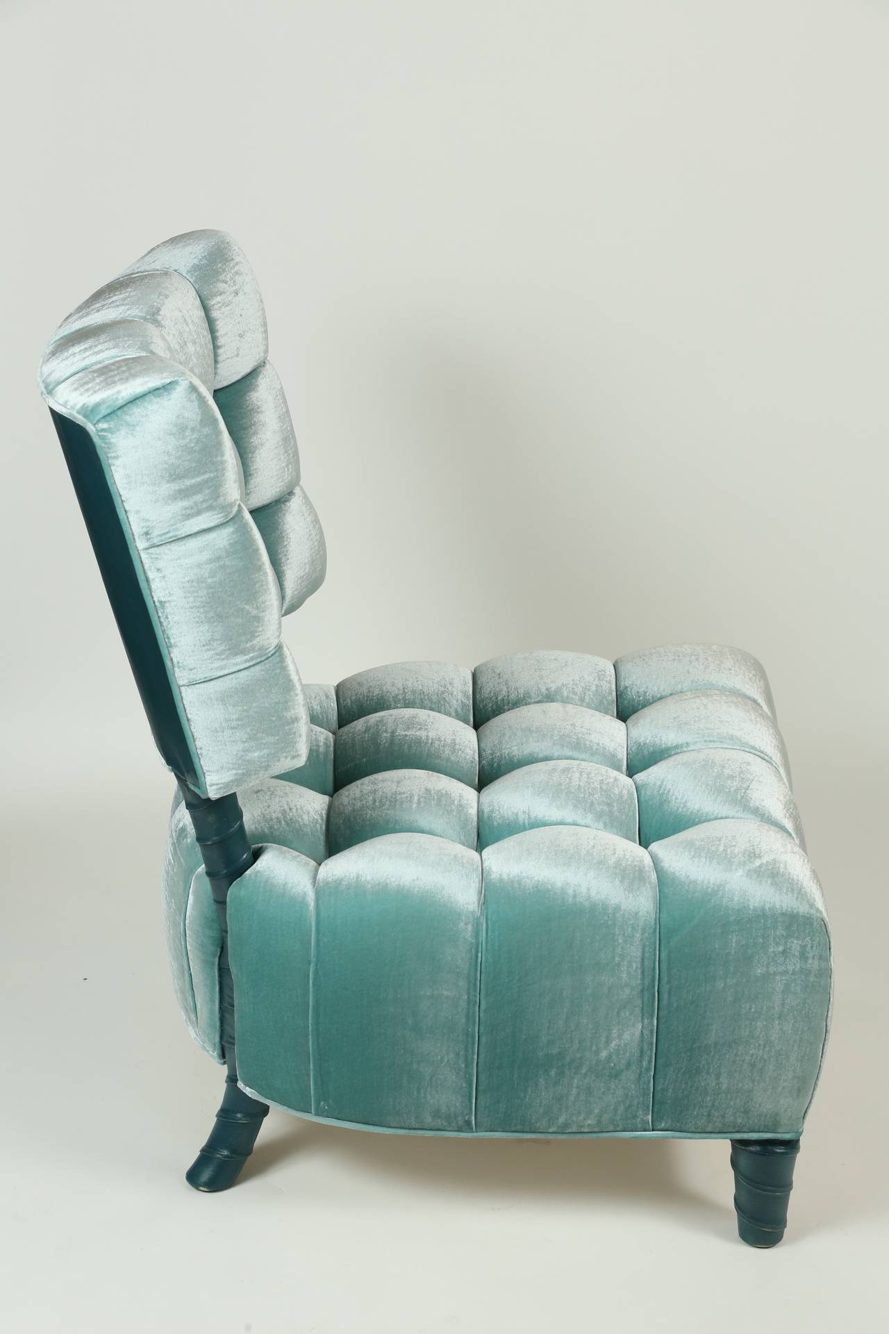 Gorgeous Leather Slipper Chair Offering Stunning Vibes and Comfy