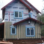 insulating exterior walls work