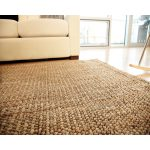 jute rug sofa window wood floor