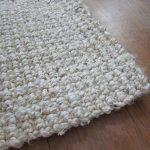 jute rug wood floor