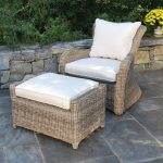 kingsley bate sag harbor lounge chair completed with ottoman for patio and garden decorating ideas