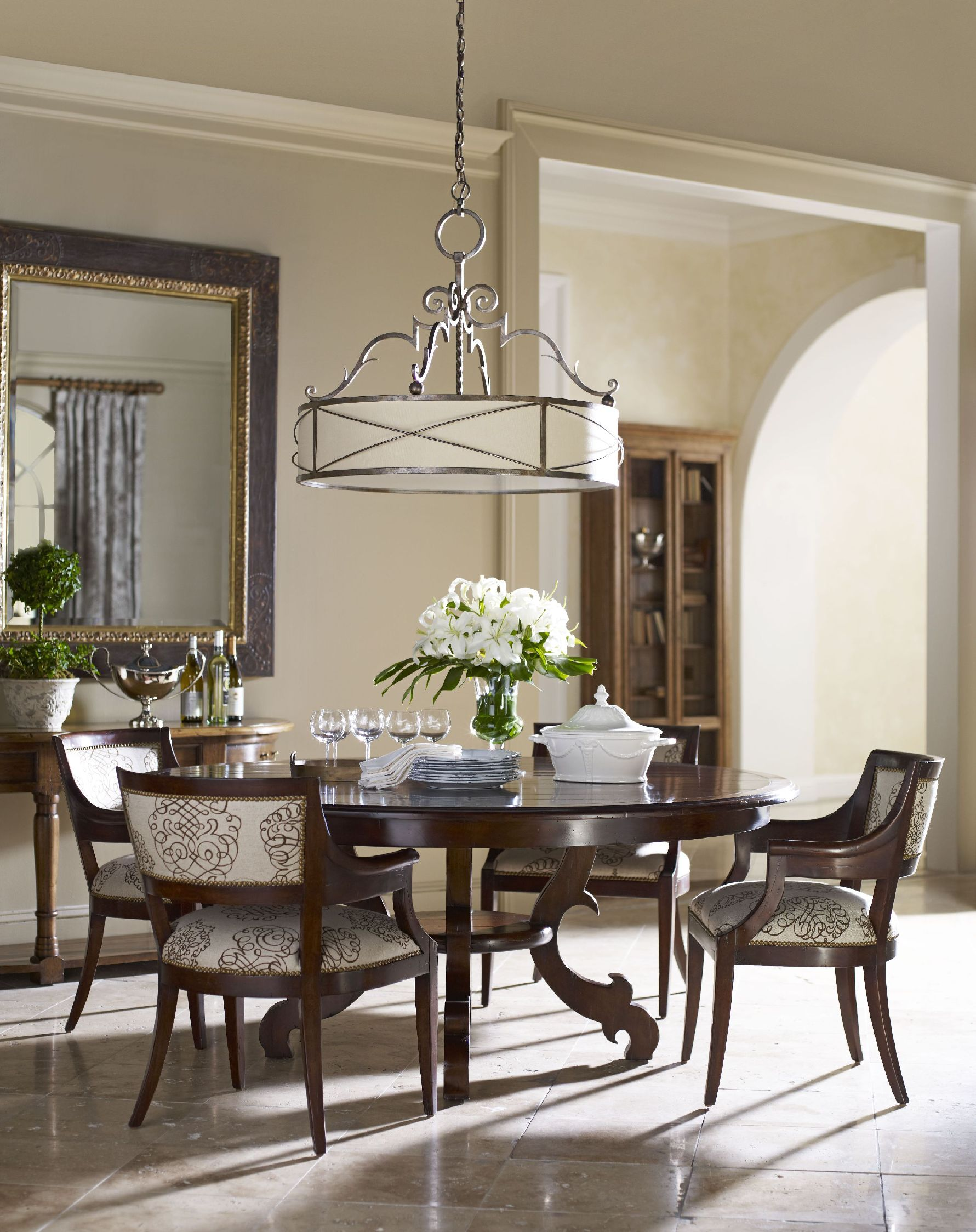 Adorable round dining room table sets for homesfeed