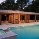 lamps pool pavilion water fresh