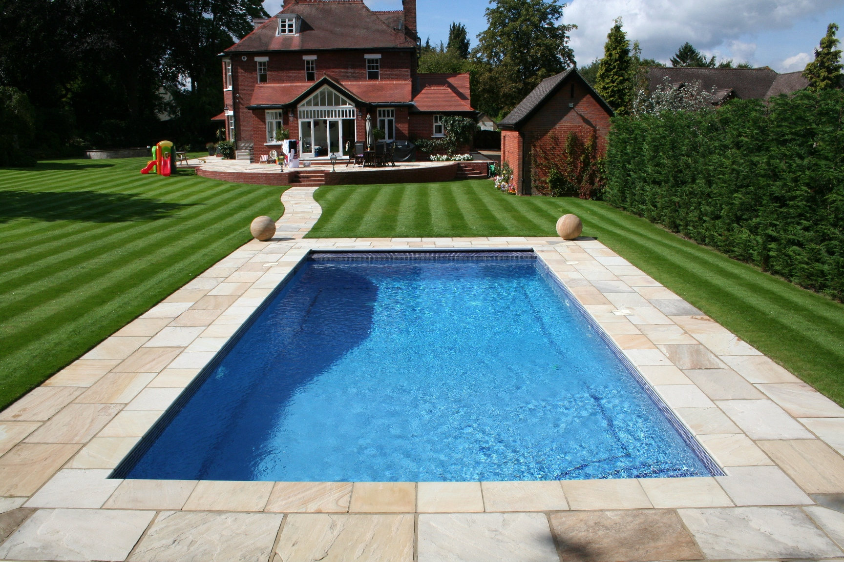 Swimming Pools Design Swimming Pool Design For Your Beautiful Yard  Homesfeed
