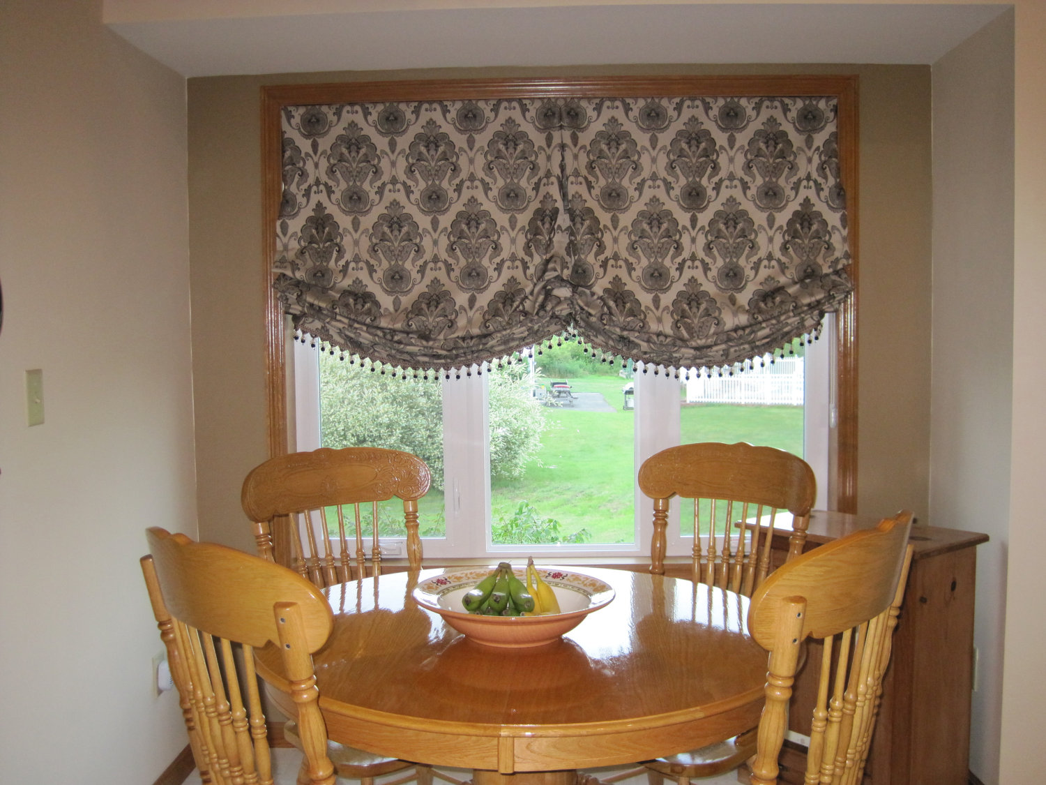 Bathroom Valance Ideas Installing Outside Mount Roman Shades At Ease Homesfeed