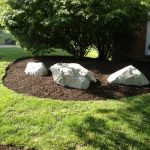 large landscape rocks large boulders for garden statements green tree and grass garden