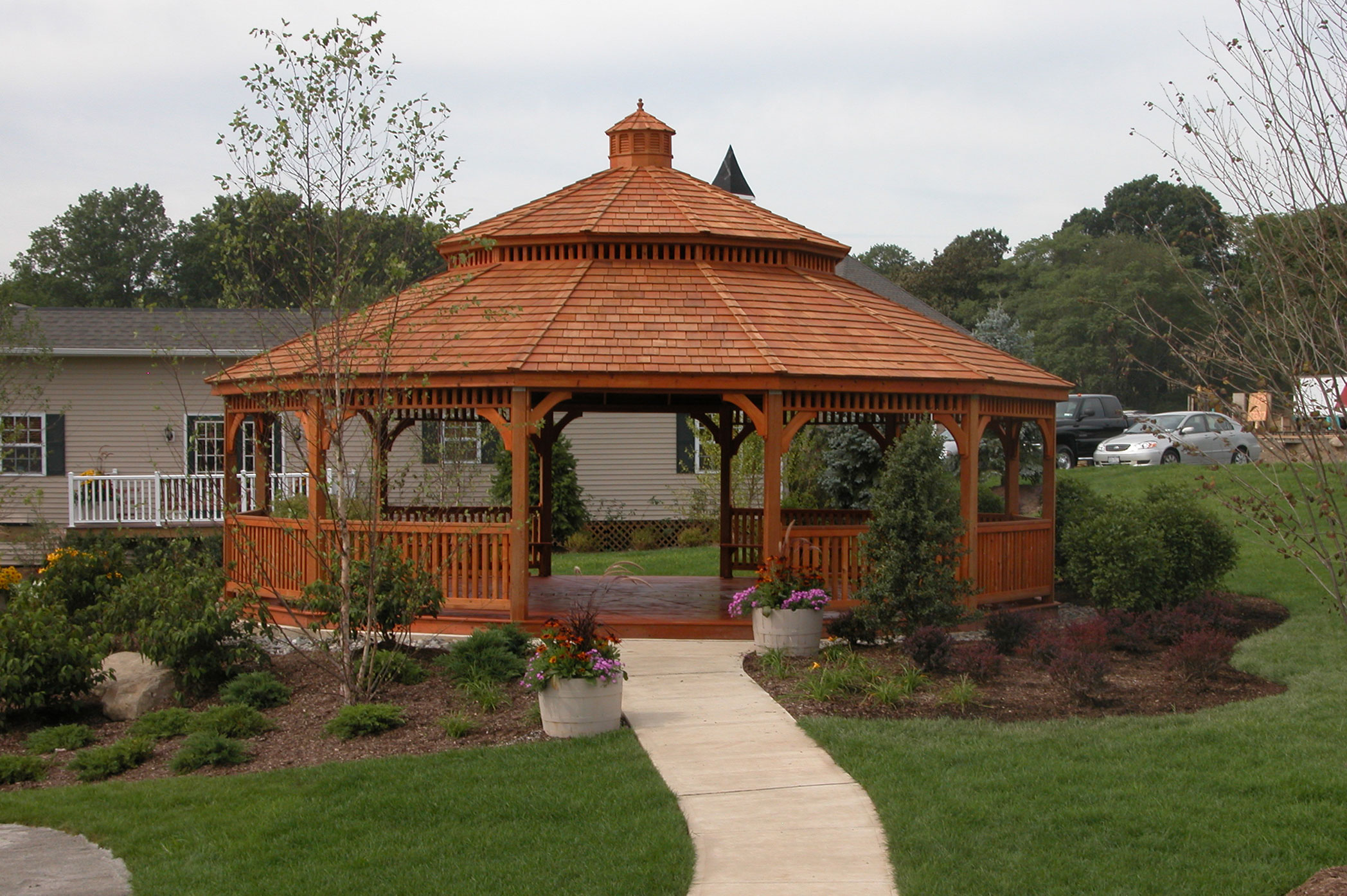 Purchasing wood gazebo kits advantages homesfeed for Rustic gazebo kits