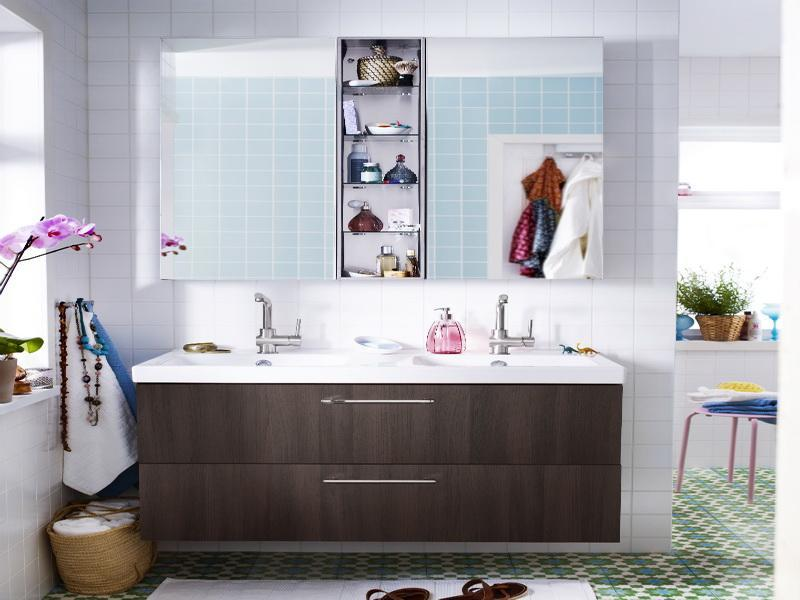 ikea bathroom cabinets with wall mirror | Ikea Bath Cabinet Invades Every Bathroom with Dignity ...