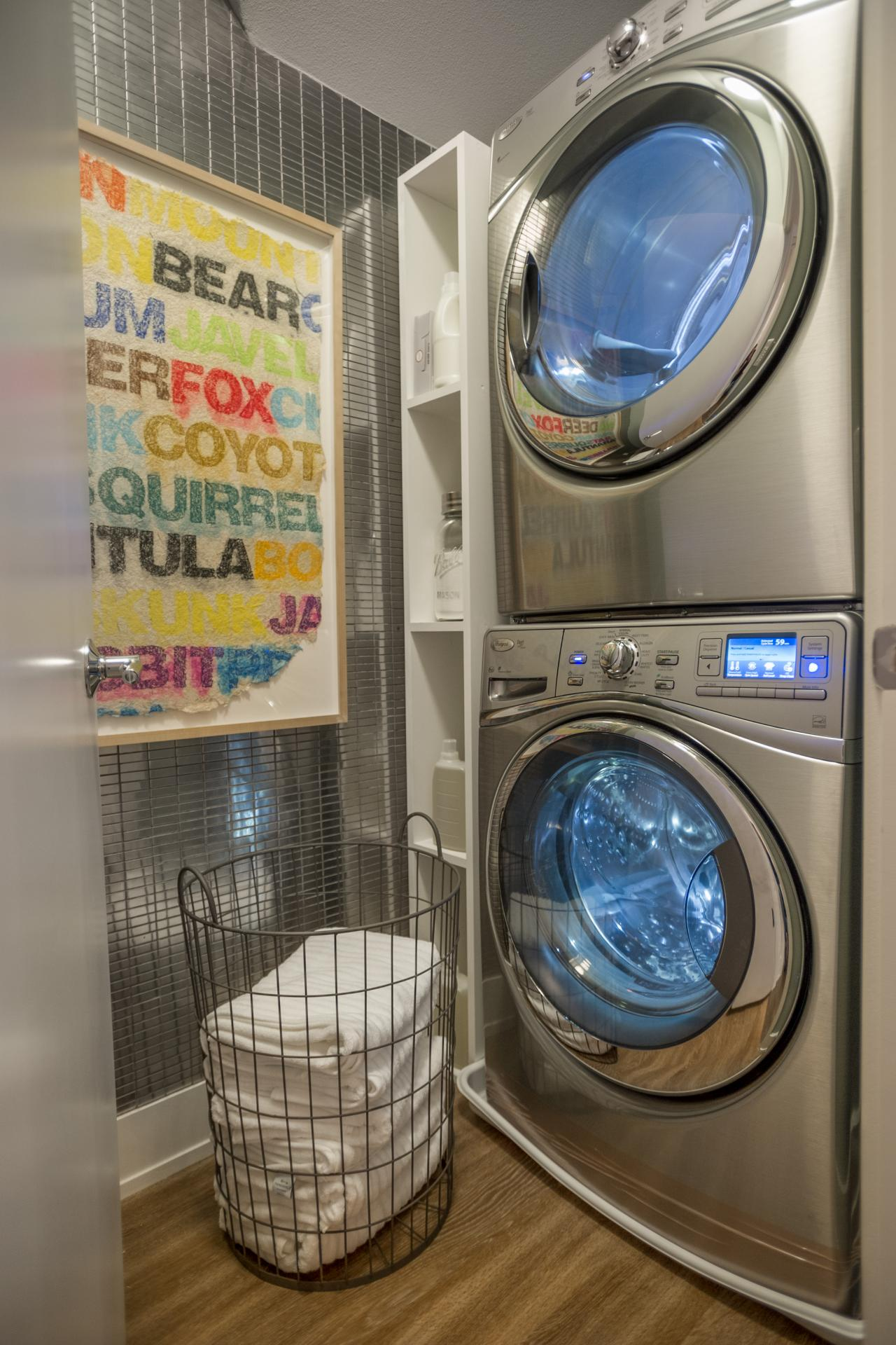 apartment size washer and dryer stackable homesfeed beautiful