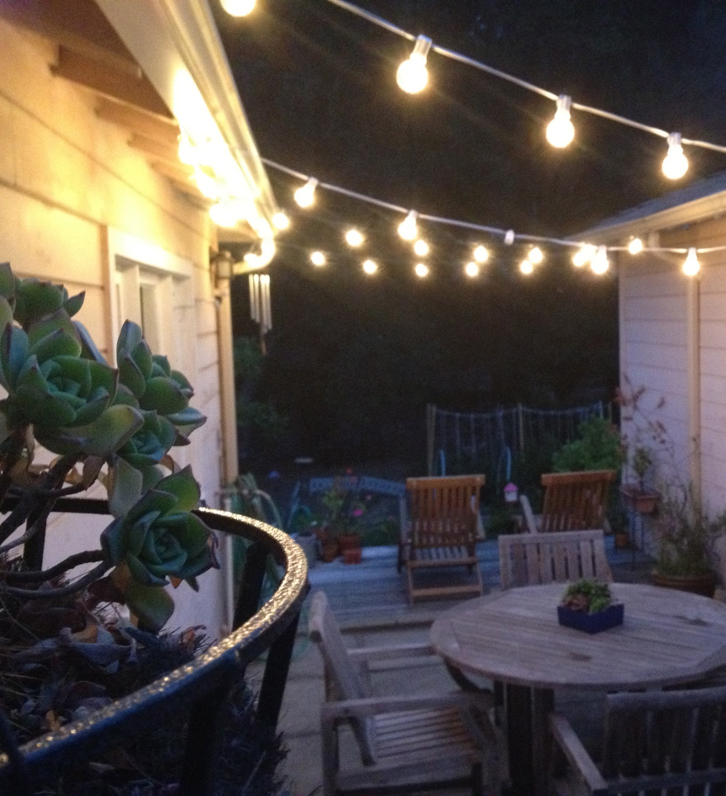 The Best Exterior String Lights Ideas