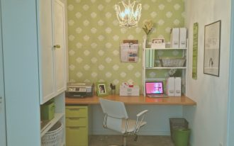 lime green stylish filing cabinets by CB2 lime green office room design unique hanging lamp comfortable white office chair lime green wallpaper