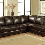 Living Room Dark Brown Top Gran Leather Sectional Sleeper Sofa Inside Sectional Leather Sofas Enduring Opulence Of Sectional Leather Sofas