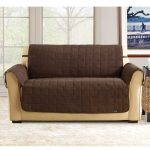 loveseat brown cover