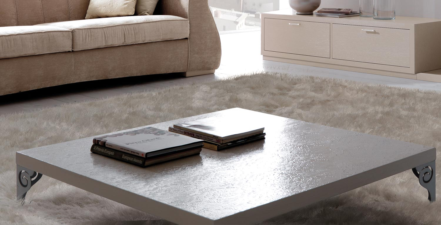 High end coffee tables to create an interesting look of a for Low living room table