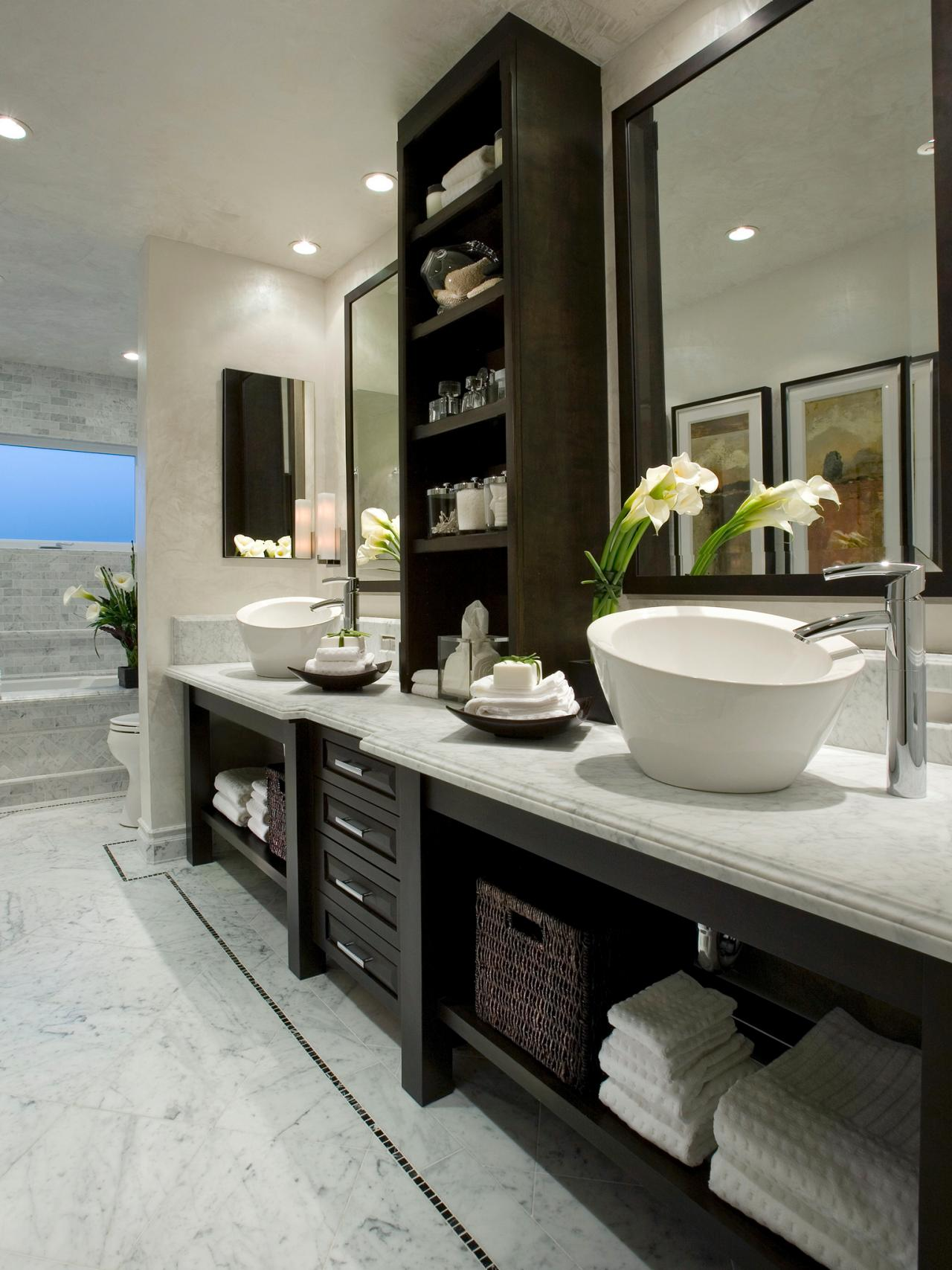 Modern Bathroom Design Ideas Pictures Tips From Hgtv: Nicole Miller Home Decor