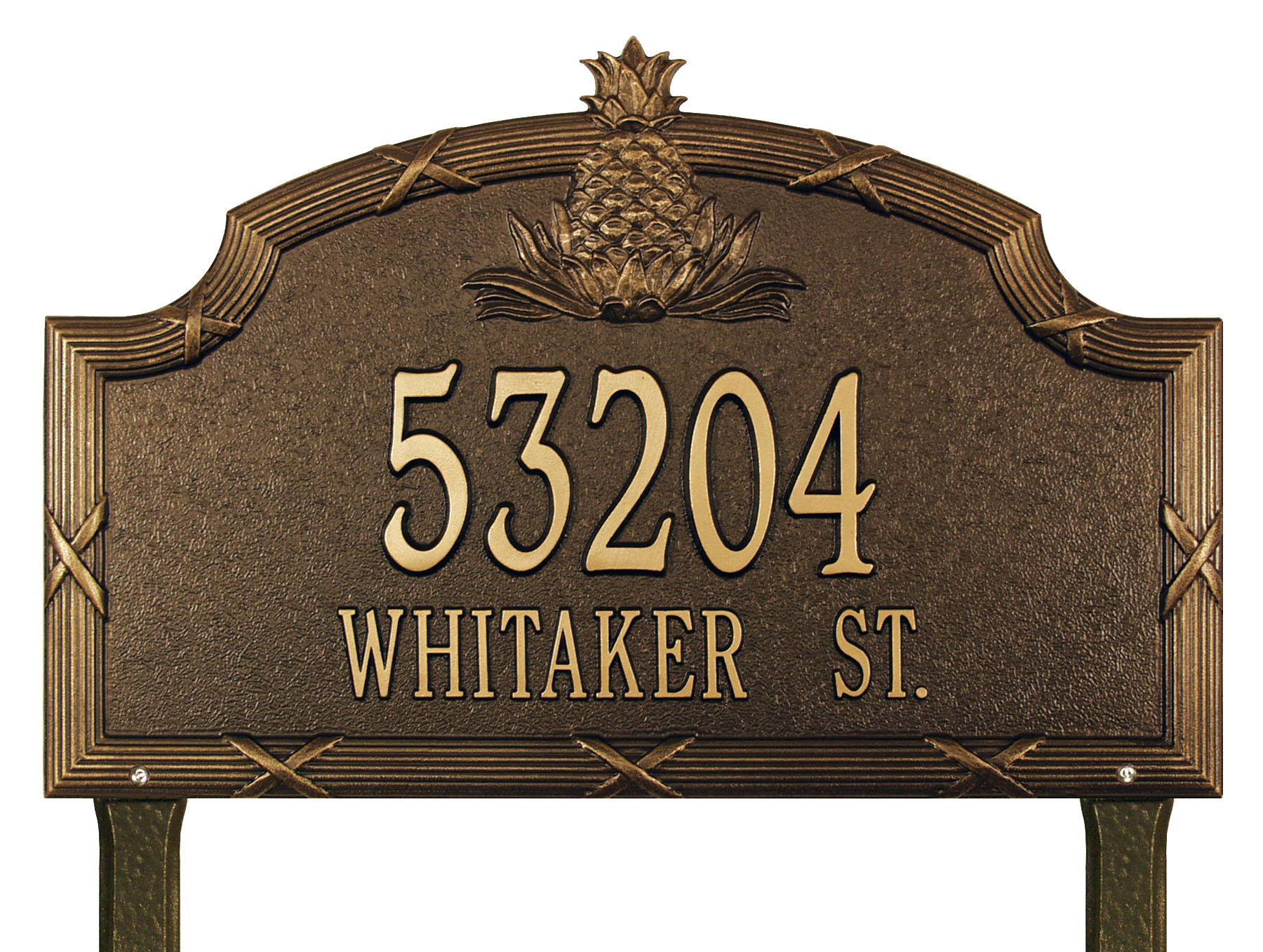 Why you should go for lawn address signs homesfeed for Outdoor decorative signs