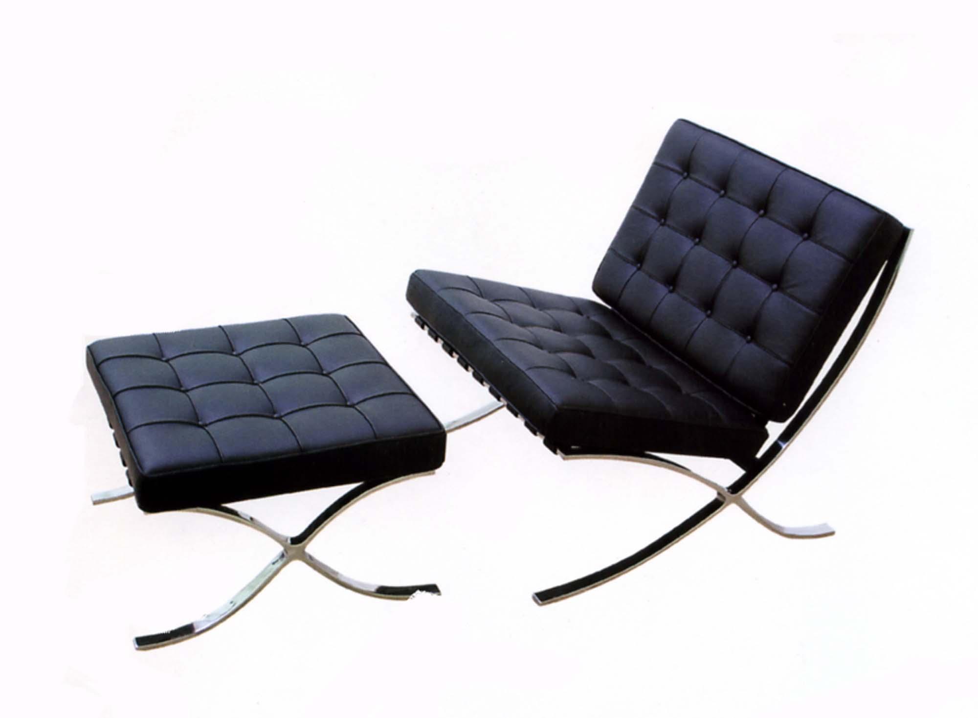 barcelona chair dimensions homesfeed. Black Bedroom Furniture Sets. Home Design Ideas