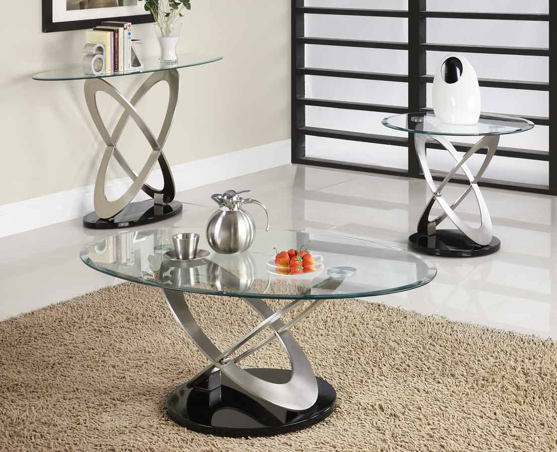 Mesmerizing cocktail table sets that are perfect for your Glass modern coffee table sets
