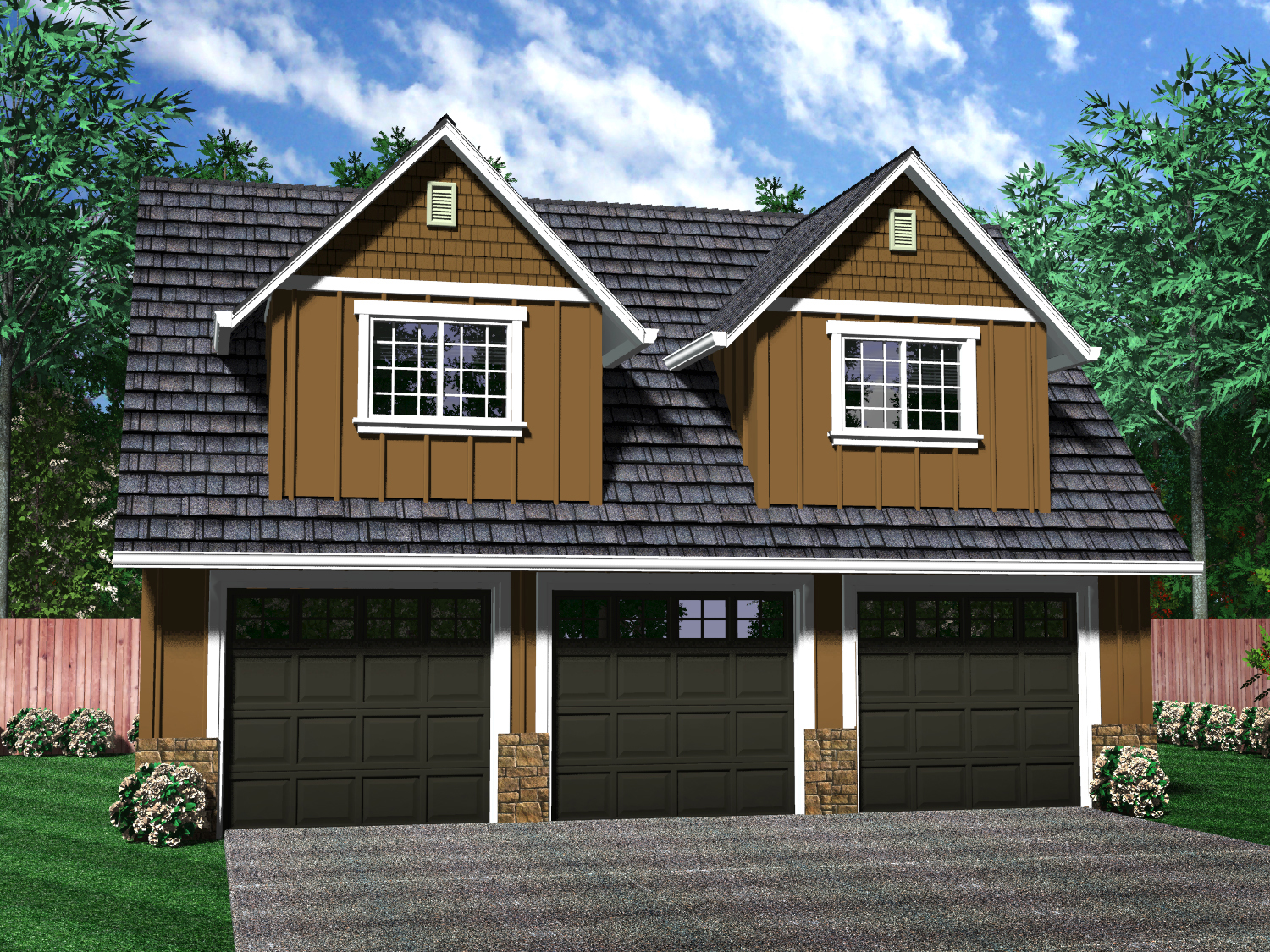 Independent and simplified life with garage plans with for Room above garage plans