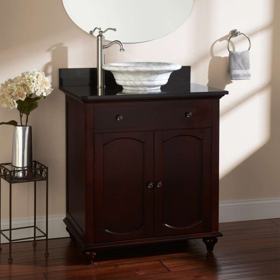 bathroom vanities for vessel sinks innovative black bathroom vanities for vessel sinks photos. Black Bedroom Furniture Sets. Home Design Ideas