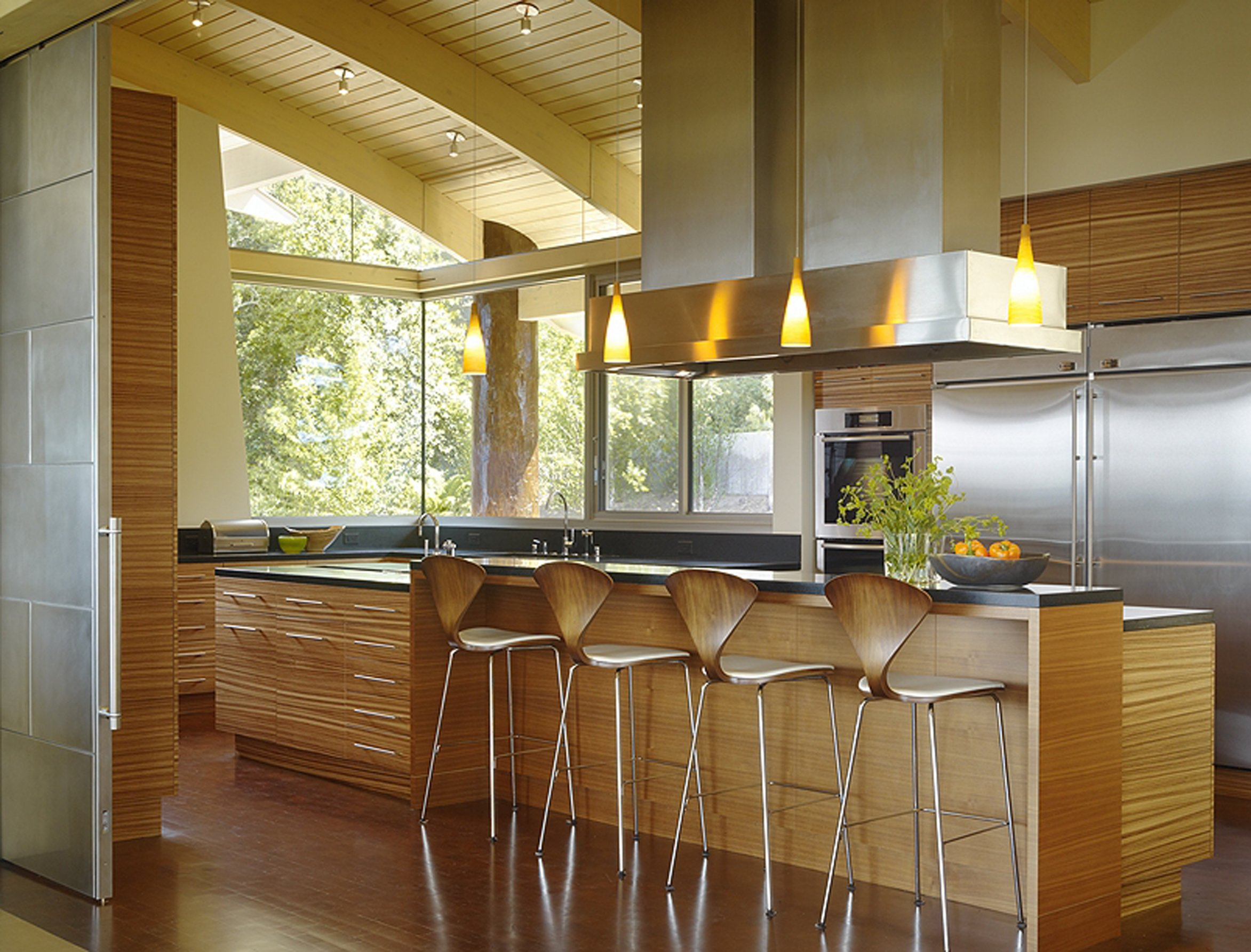 Cherner Counter Stool For Classic Modern Kitchen Homesfeed