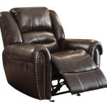 Most Comfortable Recliner In Dark Brown And And Glamour Design Suitable For Relaxing