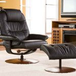 Most Comfortable Recliner With Comfy And Adjustable Design Plus Ottoman Together With Wooden Tv Stand For Flat Tv And White Rug