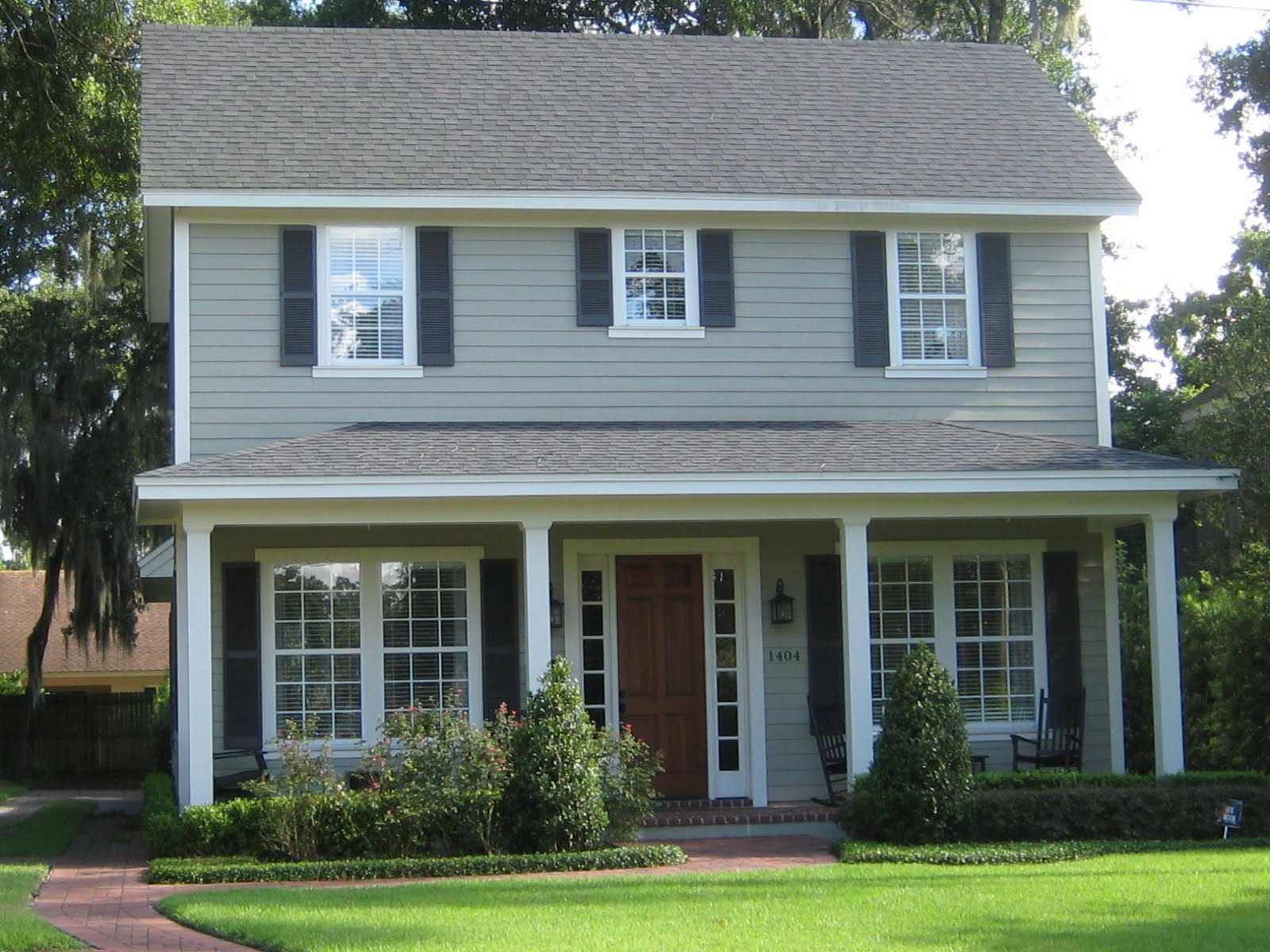 Most popular exterior house colors homesfeed - Most popular house paint colors exterior design ...