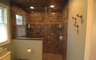 natural brown tile bathroom installing a tile bathroom tile floor bathroom