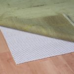 natural rubber rug pad for hardwood floor natural wooden floor green rug