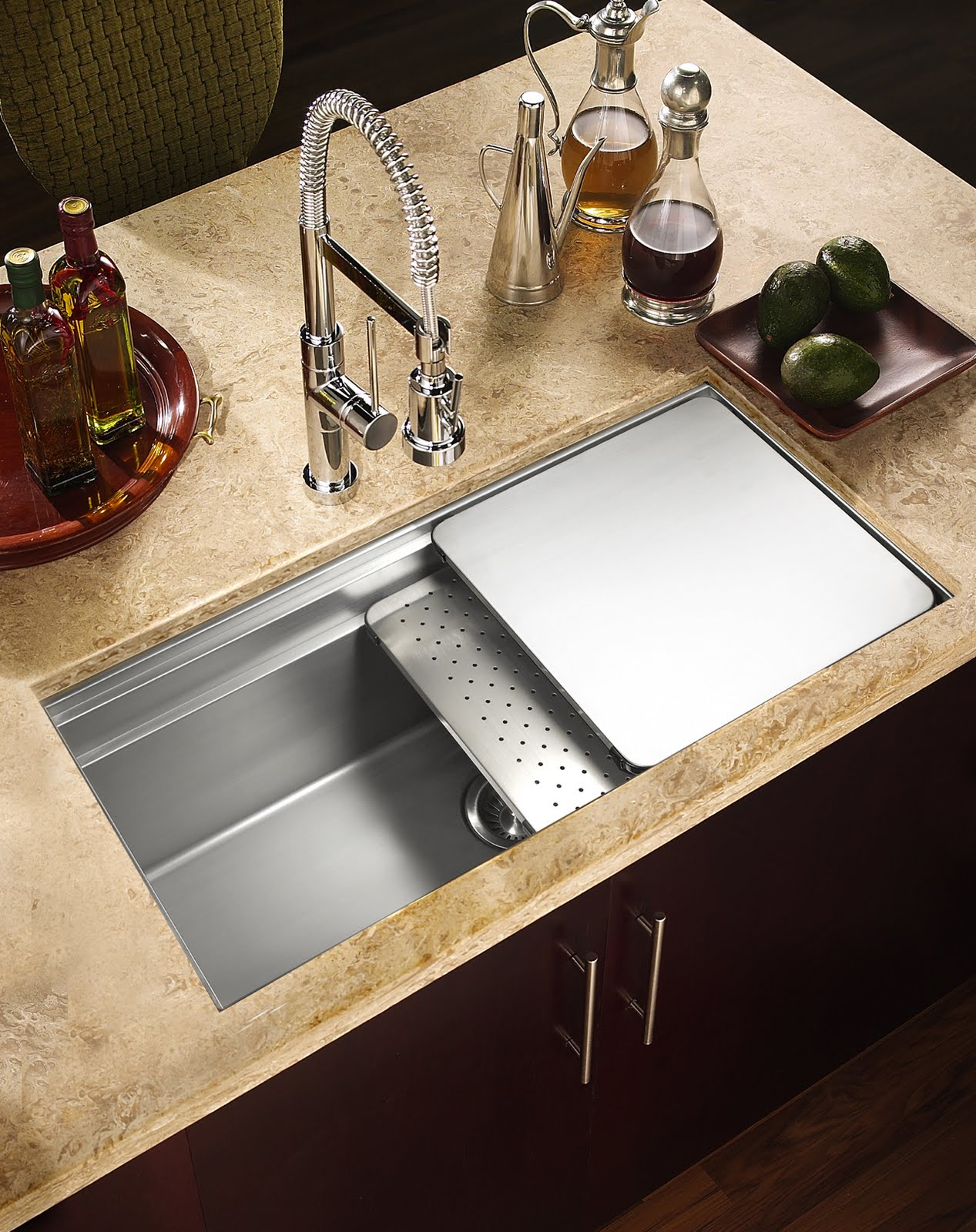 Design of kitchen sink homesfeed oil kitceb sink cabinet workwithnaturefo