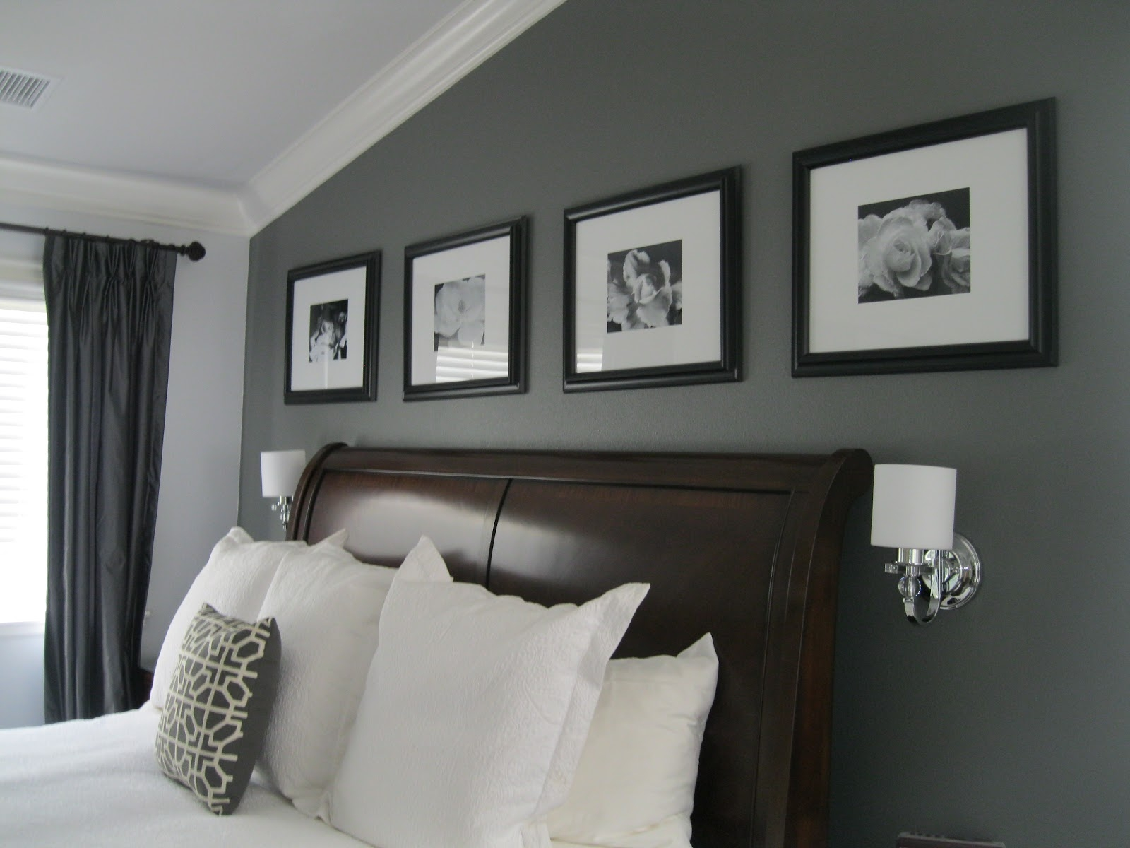 Gray paint colors for bedrooms homesfeed - Bedroom painting designs ...