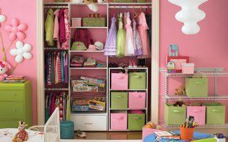 pink closet organizer bed rug girl hanger clothes