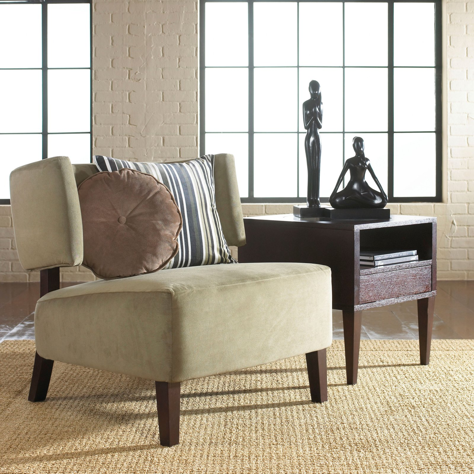 accent chair for living room natural soft color accent chair