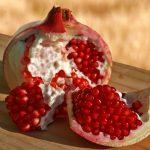 Pomegranite Wood Table