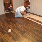 red pine flooring installation woodworker flooring job