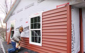 red vinyl siding for home vinyl siding installation top floor vinyl siding professional installation