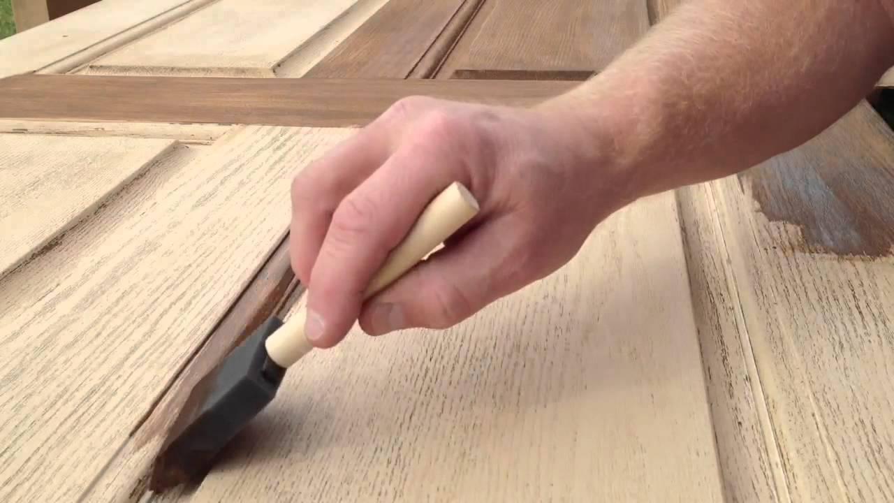 Do-it-yourself door restoration 51