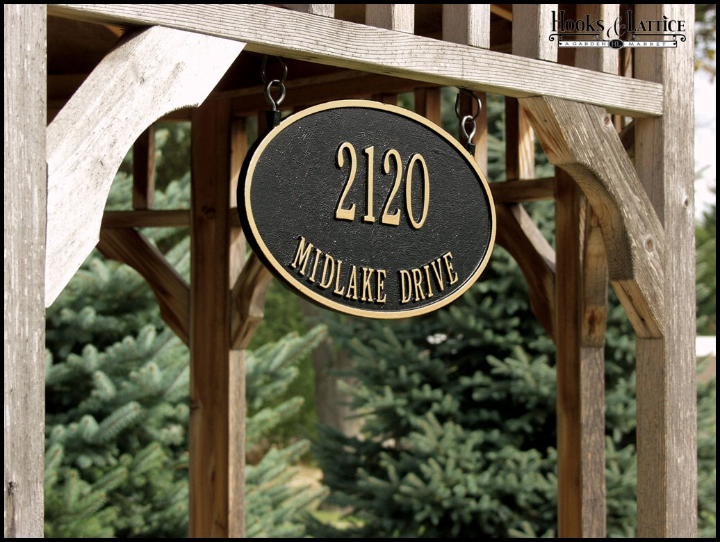 Why You Should Go For Lawn Address Signs Homesfeed