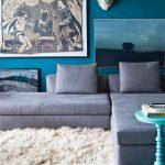 rug sofa pillows pic table
