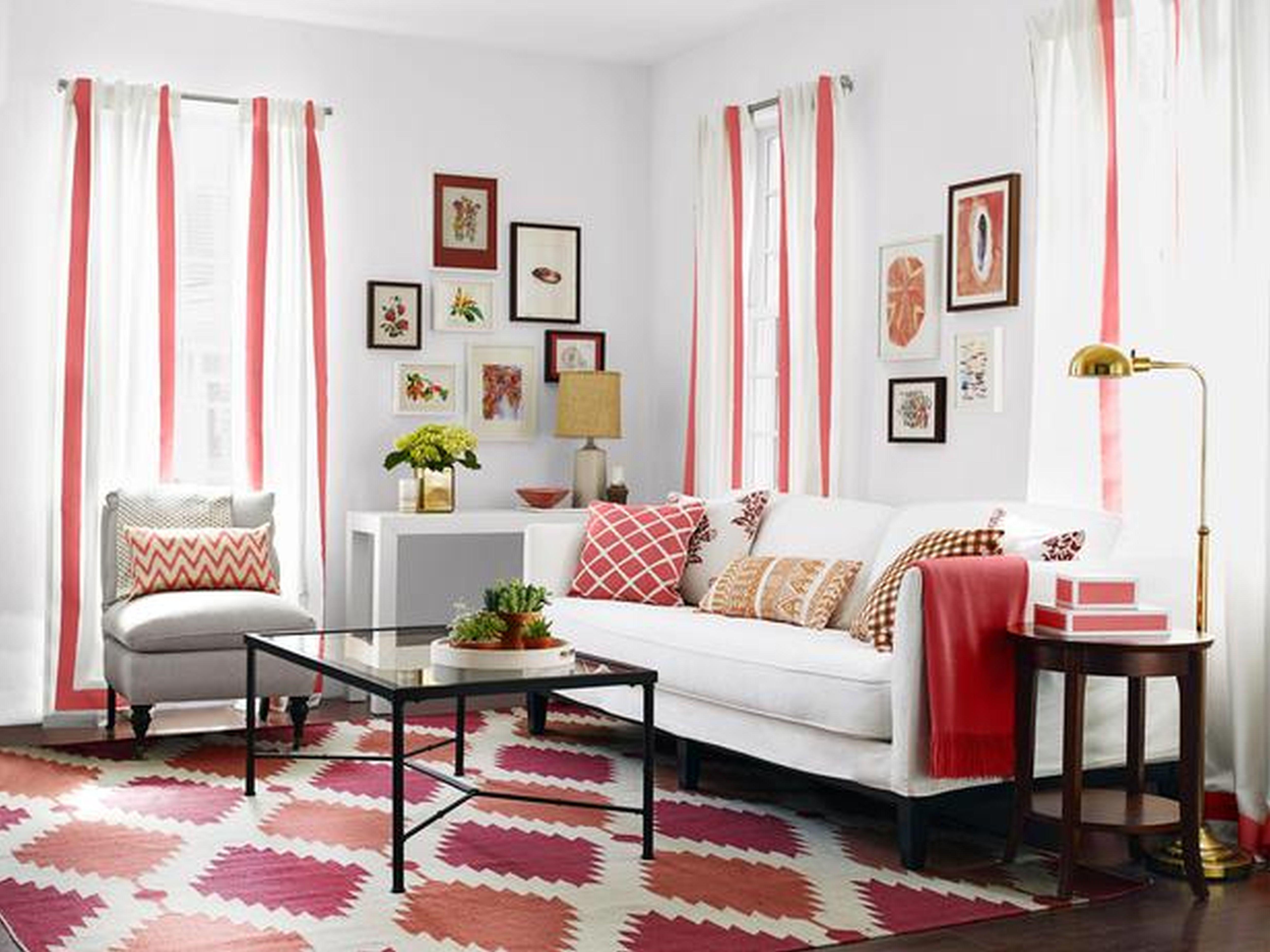 rug sofas pillows table pics curtains lamps - Diy Home Design Ideas