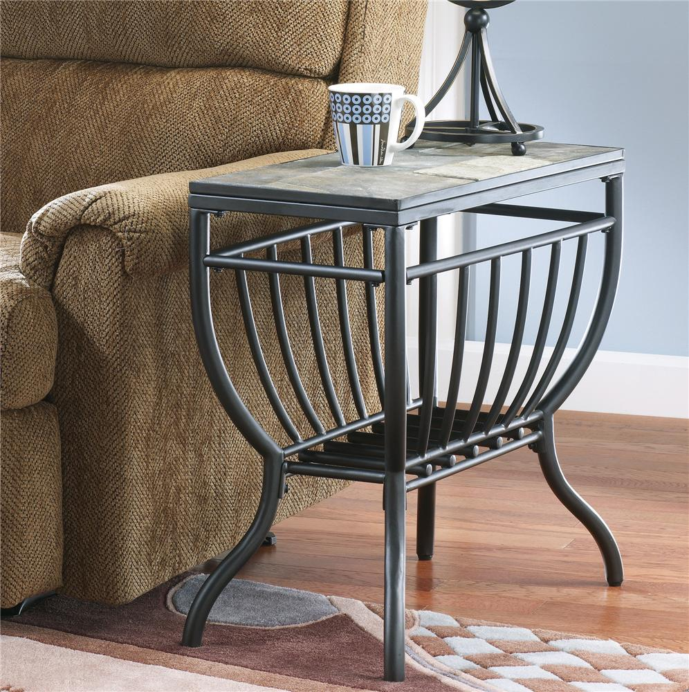 Slate End Tables Showcasing Rustic Details Homesfeed