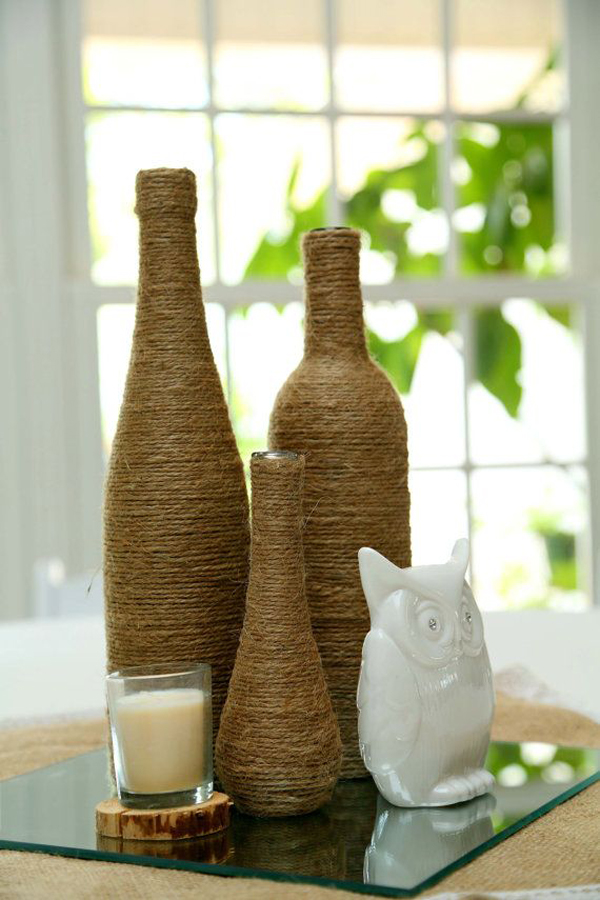 Wine Bottle Decorating Ideas Best Prep For Fall And Winter Homesfeed
