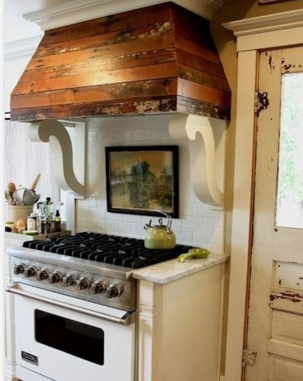 Wood Vent Hood That You Might Want to See - HomesFeed